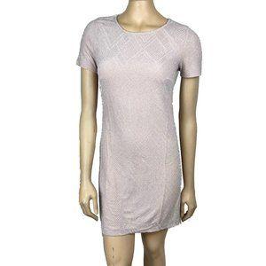 Trixxi Light Pink Metallic Dress S
